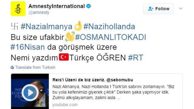 """""""Nazideutschland"""" und """"Naziholland"""": Erdogan-Anhänger kapern Twitterkonten"""