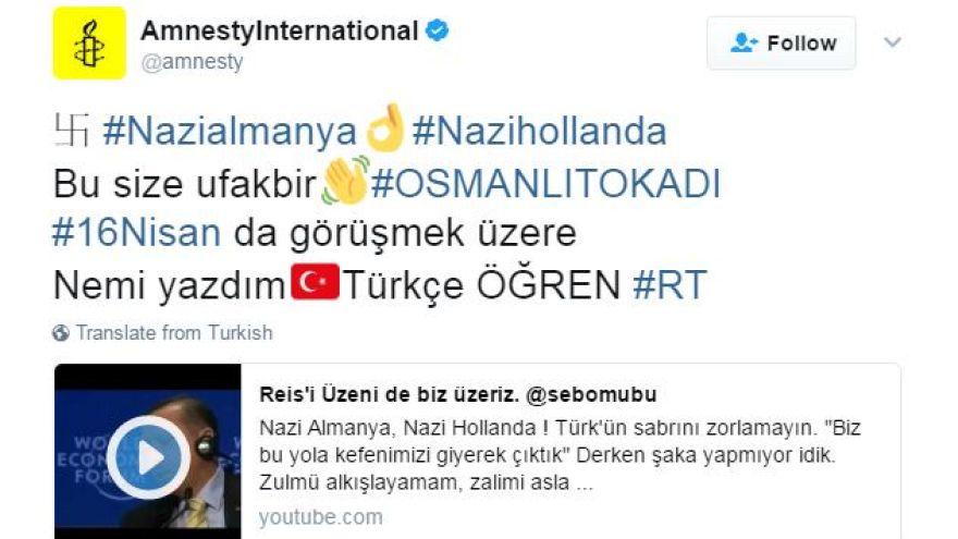 Des partisans d'Erdogan piratent des comptes Twitter