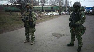 Bloqueio total dos transportes de carga até às regiões rebeldes no leste da Ucrânia