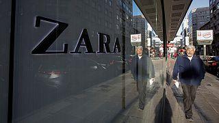 Lucros do dono da Zara sobem 10%