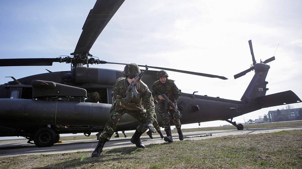 Europe ups defence spending for first time in seven years