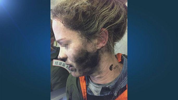 Auf Flug von China nach Australien: Kopfhörer geraten in Brand