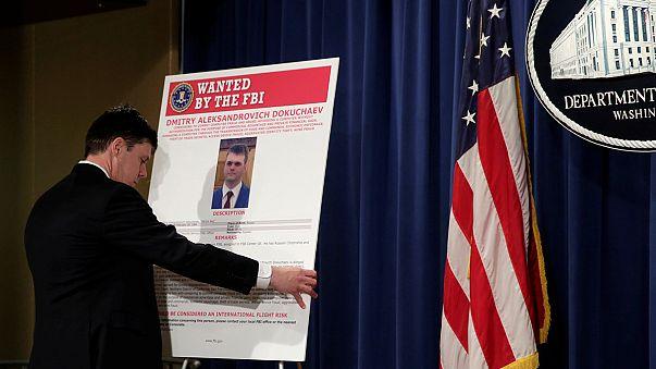 امريكا تتهم اربعة اشخاص بينهم جاسوسان روسيان بسرقة بيانات نصف مليار مستخدم لياهو