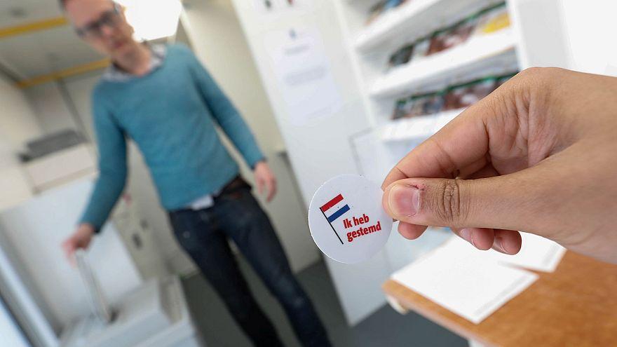 Magas részvétellel zajlik a parlamenti választás Hollandiában