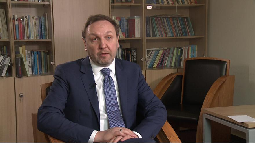 """Jacek Kucharczyk : """"EU is the only chance we have for peace and stability"""""""