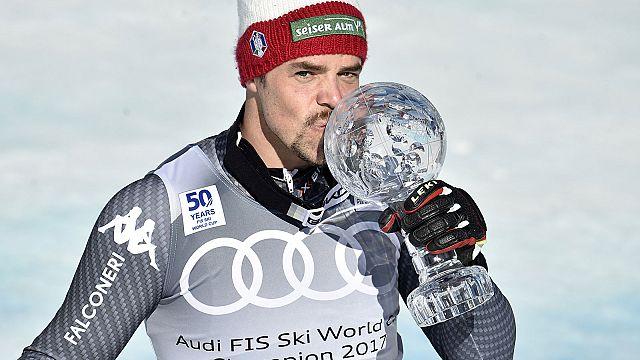 Филл снова завоевал Кубок мира в скоростном спуске