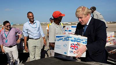 Somalie : visite surprise de Boris Johnson
