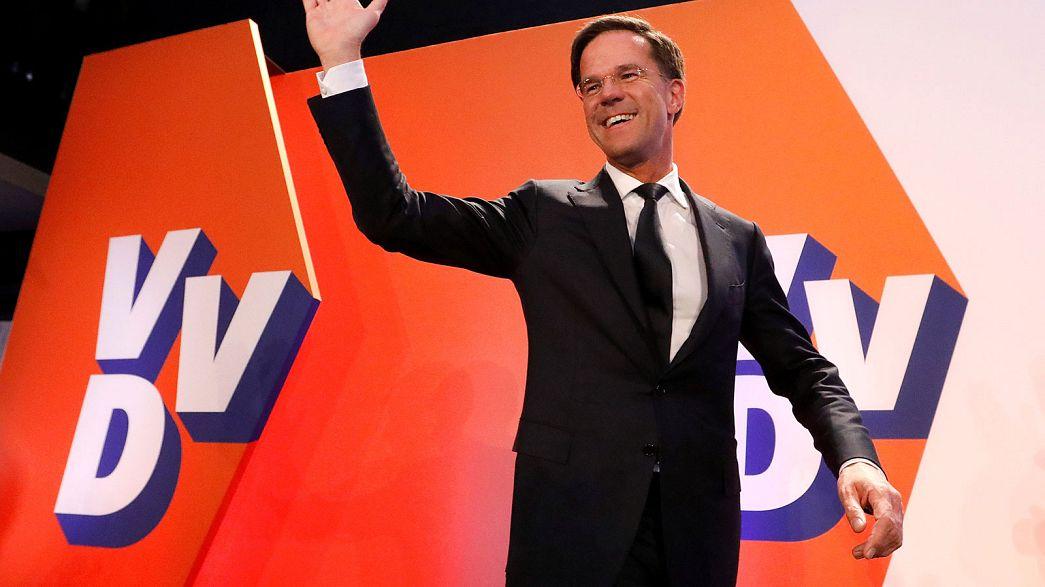 """Holanda: Rutte vence e afasta """"tipo errado de populismo"""""""