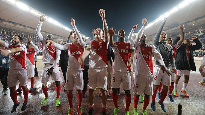 Monaco stun Man City to reach Champions League quarters as Atletico Madrid also progress
