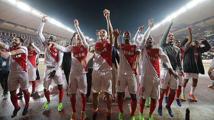 موناکو با ۶ گل به جمع هشت تیم مرحله یک چهارم لیگ قهرمانان پیوست