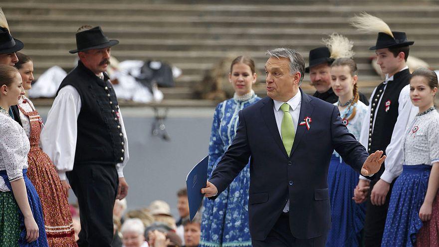 Венгрия: протесты в день национального праздника