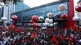 Миллионная акция протеста в Бразилии переросла в столкновения с полицией