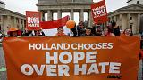 Bizakodó a hangulat Hollandiában a választások másnapján