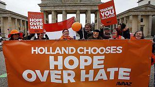 Hollandalılar ırkçı Wilders'ın kaybetmesinden memnun