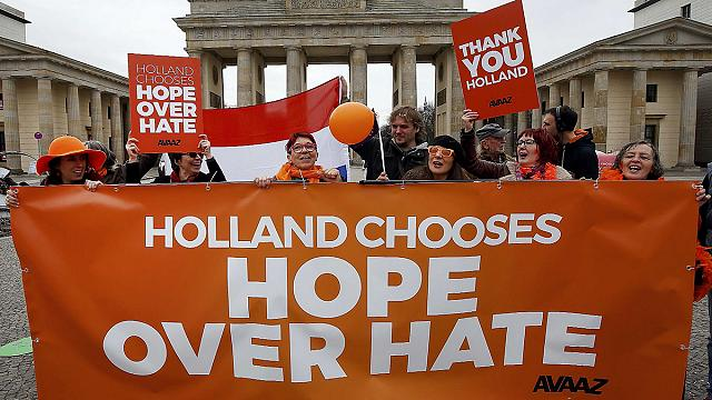 هلندی ها شادمان از مهار راست افراطی