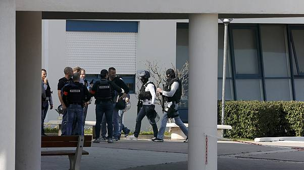 Shooting at high school at Grasse in southern France