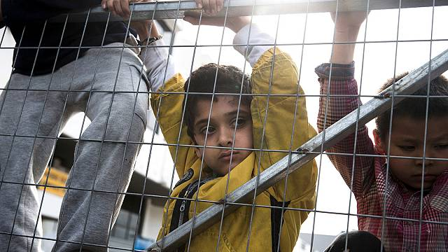 Children trapped in 'endless misery' at Greek refugee camps - report