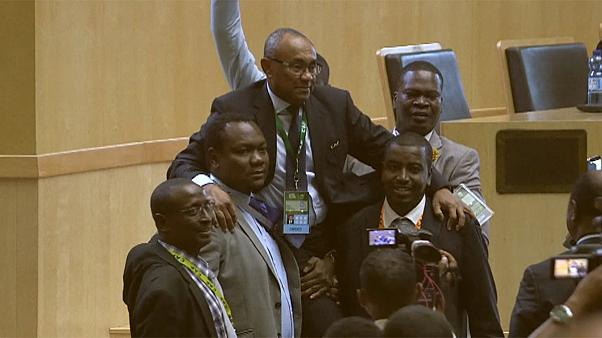 CAF's surprise new president no stranger to scandal