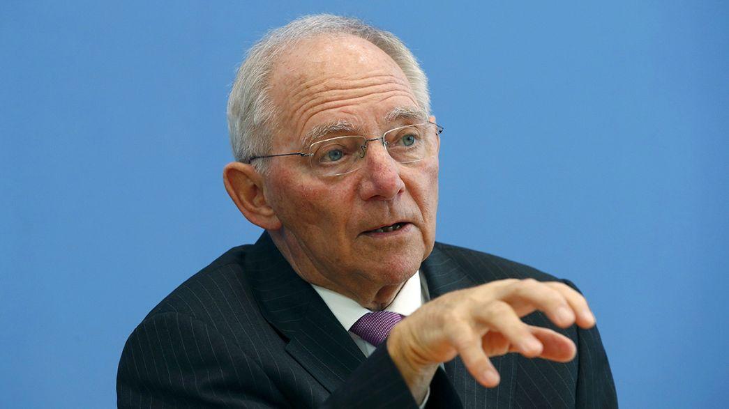 دفاع وزیر دارایی آلمان از مرکزیت مالی لندن