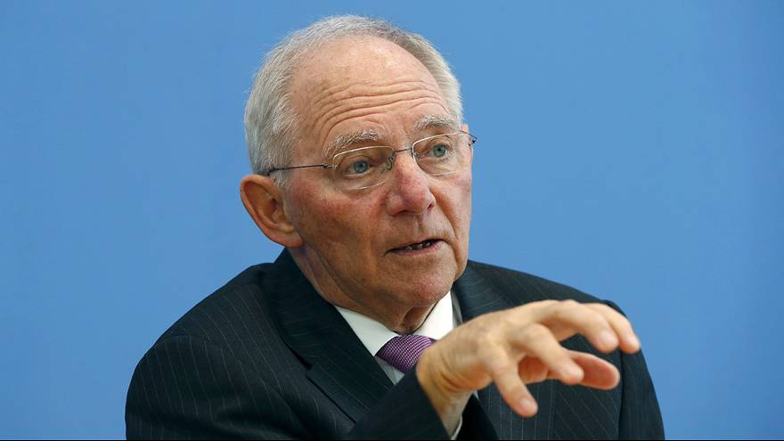 German Finance Minister Schaeuble backs London as strong financial centre