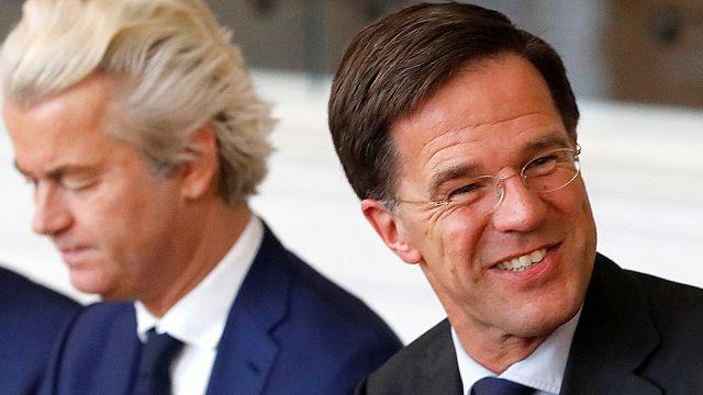 """الهولنديون يشيدون بالانتصار على """"الشعبوية """""""