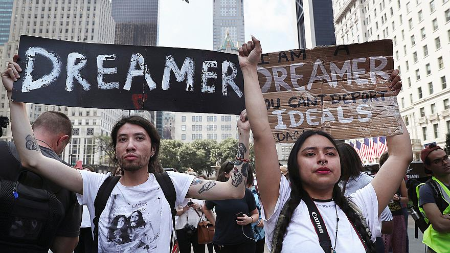 Image: Activists Across US Rally In Support Of DACA