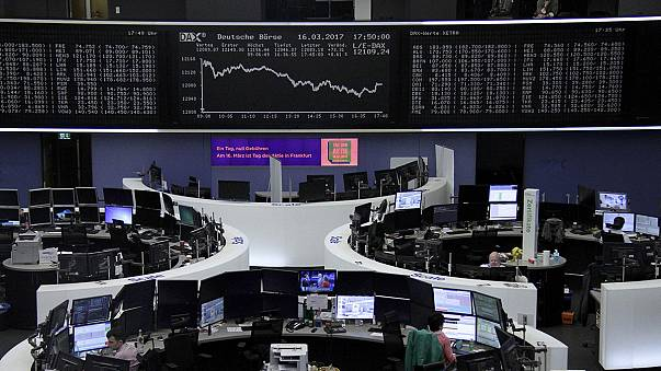 European shares jump on Dutch election result and dovish Fed