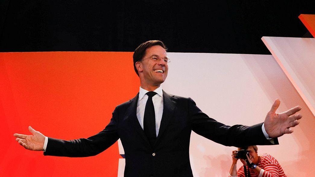 """Голландское """"нет"""" популизму услышали во Франции и ФРГ"""
