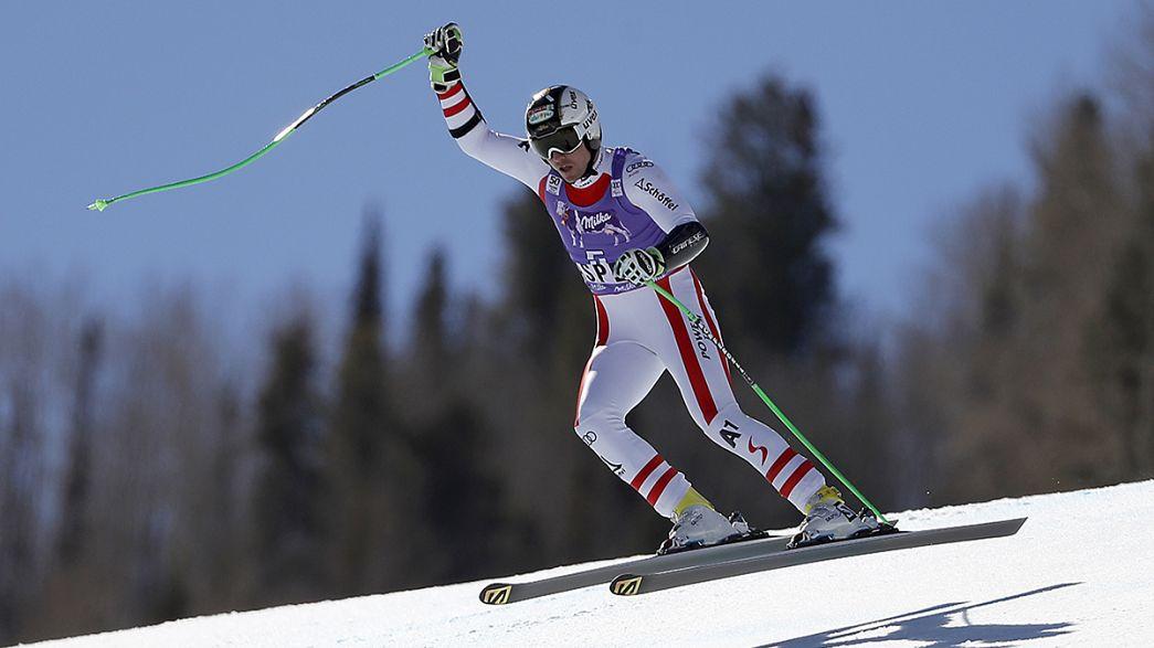 Hannes Reichelt gewinnt beim Weltcupfinale den Super-G
