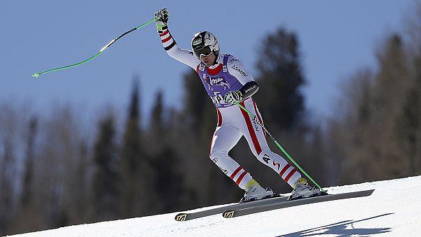Esqui Alpino, Súper G: Reichelt vence derradeira etapa e Jansrud celebra Globo