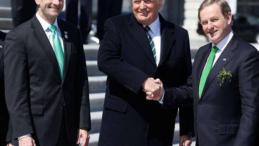 Le Premier ministre irlandais fête la Saint Patrick avec Donald Trump
