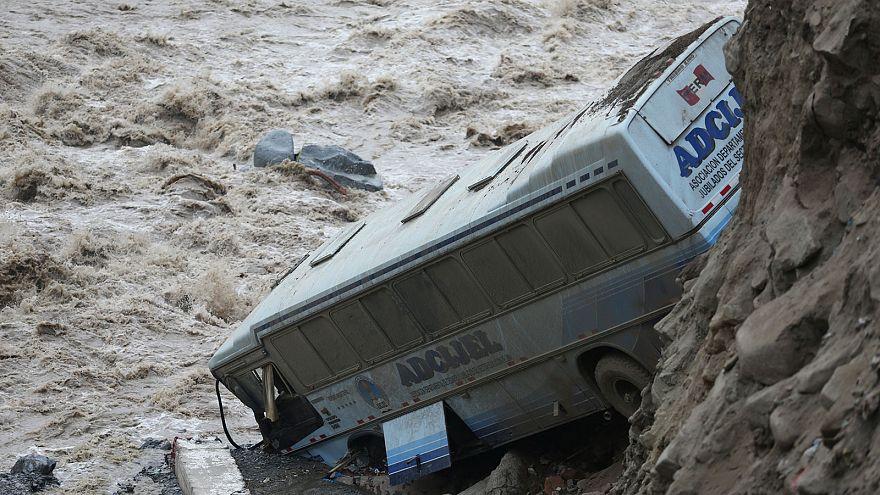 Peru'da sel ve heyelanlar son 3 günde 12 can aldı