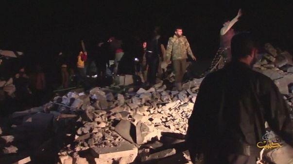 EE.UU. reconoce un ataque junto a la mezquita destruida en Siria