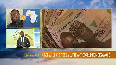 Nigeria: Le sénat désavoue le chef de la lutte anti-corruption [The Morning Call]