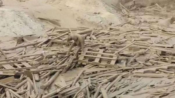 Перу: спастись от грязевого потока
