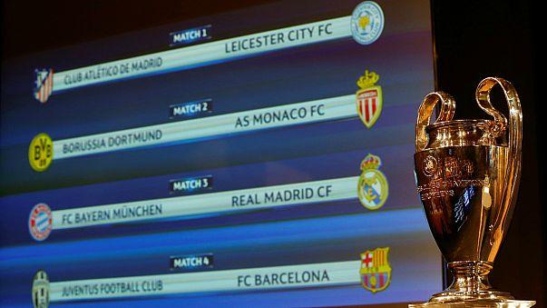 Quarts de finale de Ligue des Champions : Monaco s'en tire bien
