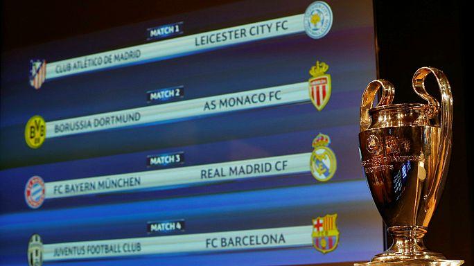 Bayern-Real Madrid, Atlético-Leicester y Juventus-Barça en cuartos de final de la Champions