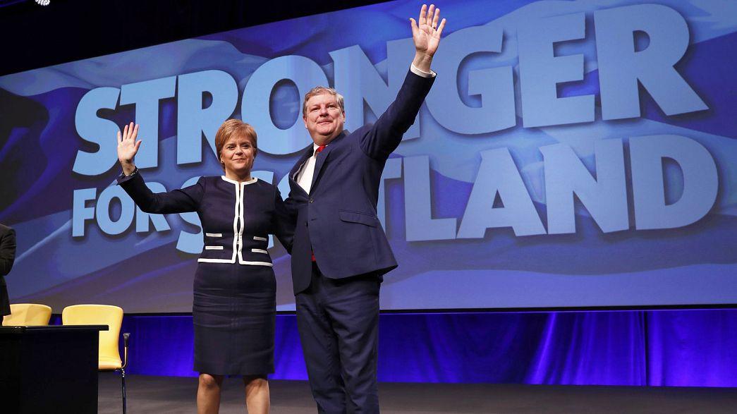 Second Scottish referendum row rumbles on