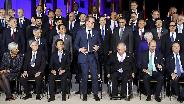 G20 finance ministers ponder how strongly to defend free trade