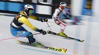 اسکی آلپاین: برتری سوئد در رقابت تیمی مسابقات پایان فصل