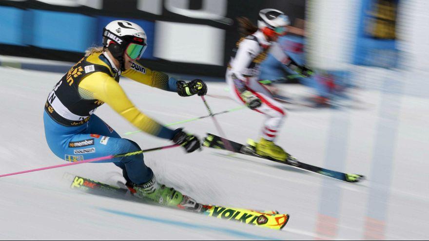 Svéd csapatsiker az alpesi-sí világkupában