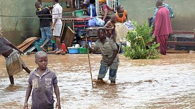 At least six dead in Burundi floods
