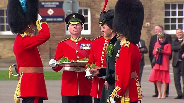 الأمير وليام والأميرة كيت يحتفلان بيوم القديس سان باتريك