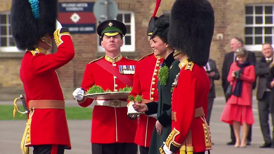 Prinz William und Kate feiern St Patrick's Day