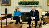Blicke sprechen Bände: 12 ziemlich geniale Tweets zu Merkel-Trump