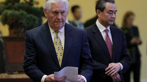 "US and China will ""work together"" on North Korea"
