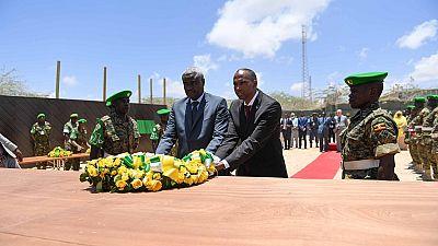 Moussa Faki en visite de solidarité en Somalie