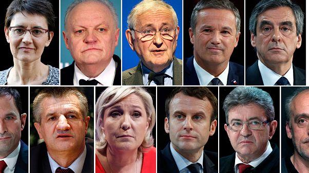 Γαλλία: Έντεκα υποψήφιοι για την προεδρία