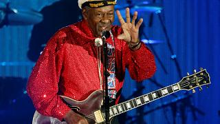 Chuck Berry duck walks to the 'Promised Land' aged 90