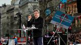 French presidential election Mélenchon marches on Paris